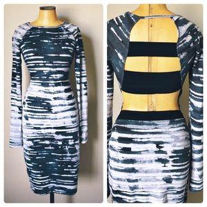 Rachel Roy bodycon cutout dress S